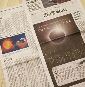 The State eclipse article Erin Shaw Columbia SC