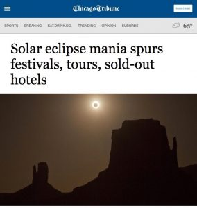 Chicago Tribune-eclipse story Columbia SC
